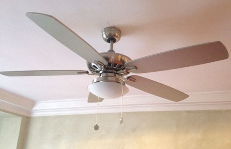 Install ceiling fans for energy efficiency valencia28 graphic two men with euro between them aloadofball Gallery